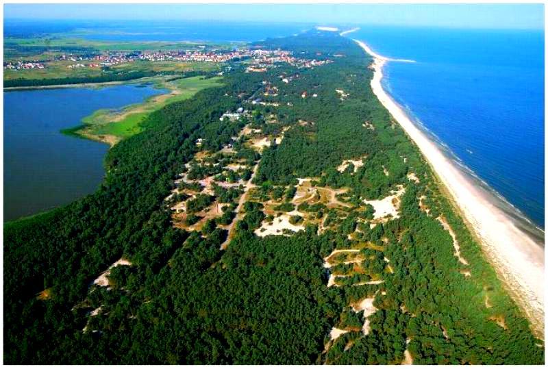 Tani ośrodek kolonijny nad morzem Łeba